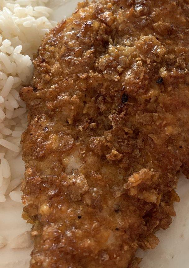 Corn flakes kanaa, eli itse tehtyjä kananugetteja!
