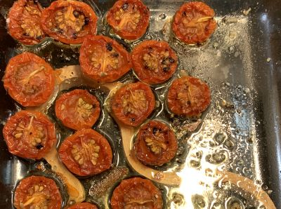kuivatut tomaatit