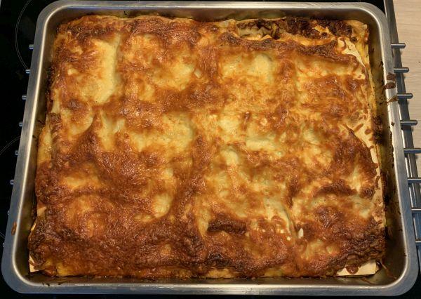 Valmis lasagne!