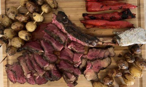 Pihvi-ilta, pääosassa liha!