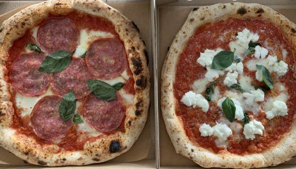 Kaupungin jonotetuin pizza